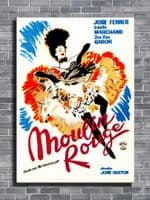 1950's Movie - MOULIN ROUGE - Jose Farrer - P1 / canvas print - self adhesive poster - photo print